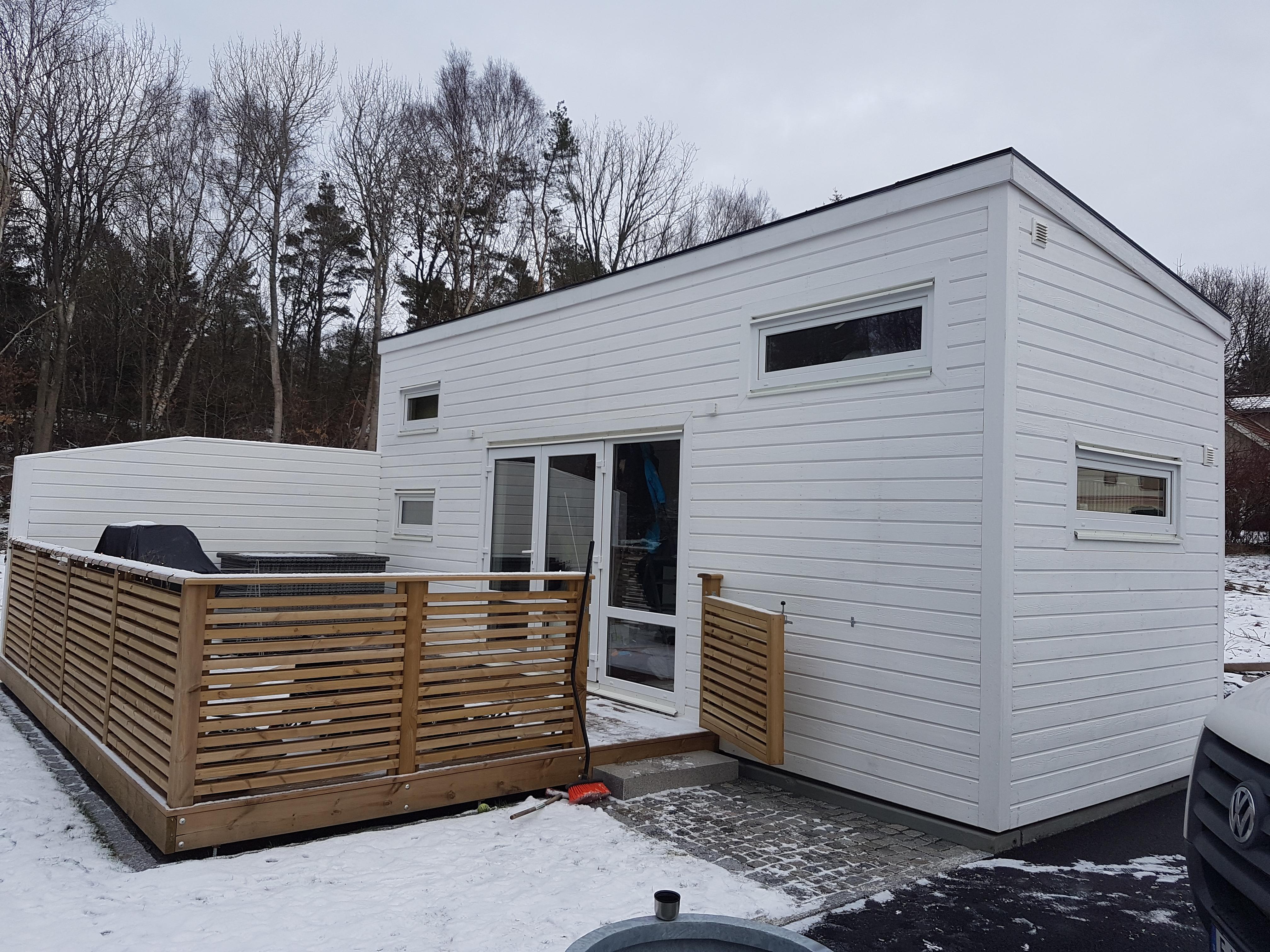 Attefallshus Rymlig levererad till Göteborg