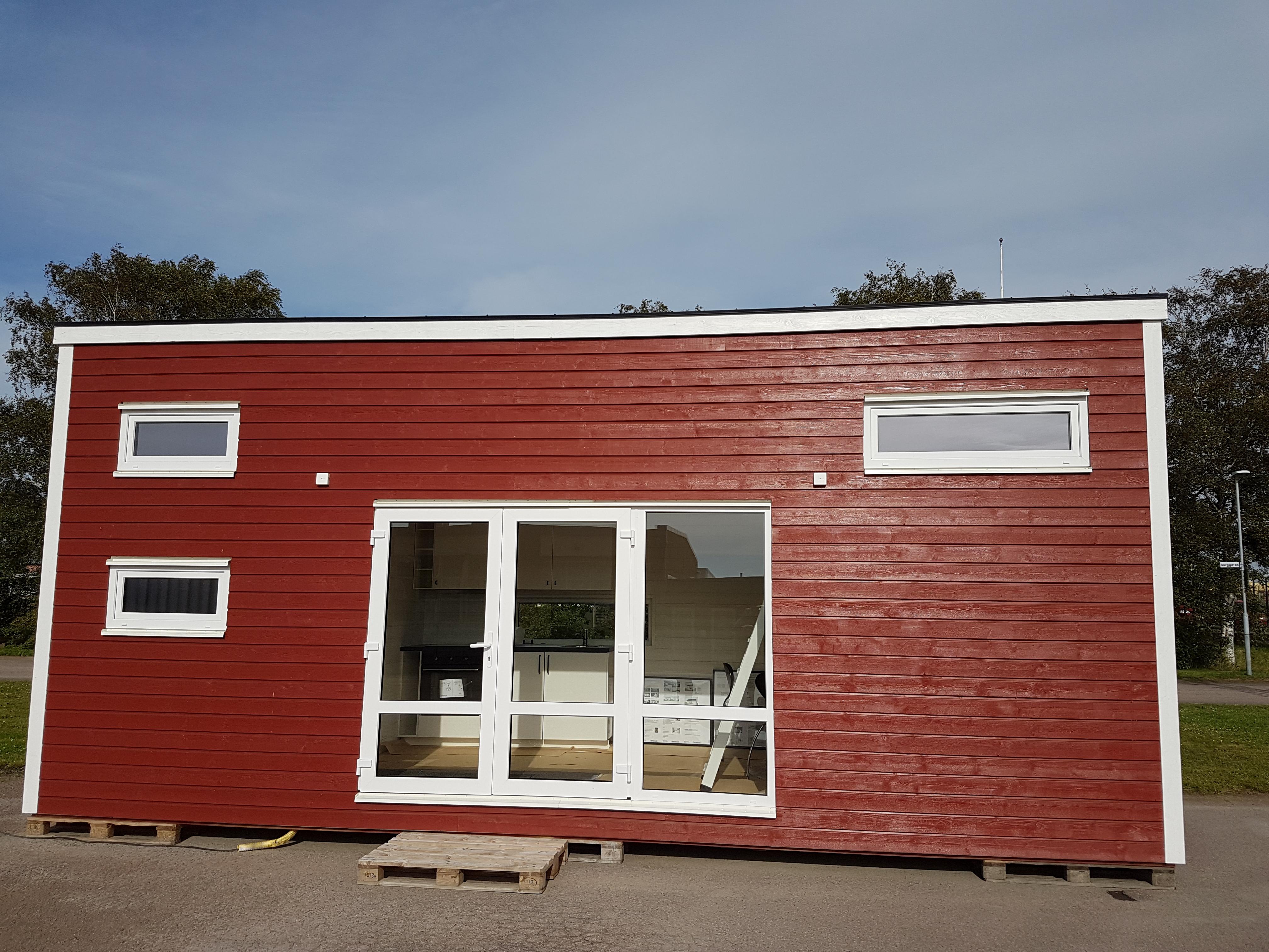 Attefallshus levererat till Göteborg